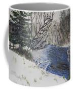 Johnson Vermont In Spring Snow Storm Coffee Mug