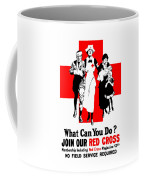 Join Our Red Cross Coffee Mug