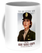Join The Army Nurse Corps Coffee Mug by War Is Hell Store