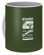 Join The Us Marines Coffee Mug