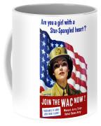Join The Wac Now - World War Two Coffee Mug