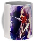 Joni Mitchell, Music Legend Coffee Mug