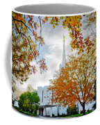 Jordan River Temple Coffee Mug by La Rae  Roberts