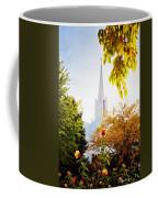 Jordan River Temple Rose Coffee Mug by La Rae  Roberts