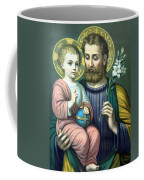 Joseph And Baby Jesus Coffee Mug