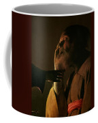 Joseph And The Angel Coffee Mug by Georges de la Tour