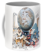 Joseph Pulitzer Cartoon Coffee Mug