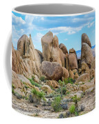 Joshua Tree Boulders Coffee Mug