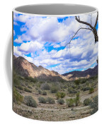 Joshua Tree National Park Landscape Coffee Mug
