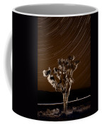 Joshua Tree Night Lights Death Valley Bw Coffee Mug