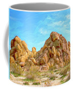 Joshua Tree Rocks Coffee Mug