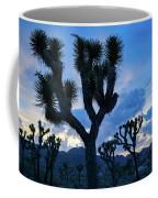 Joshua Tree Sunset Skies Coffee Mug