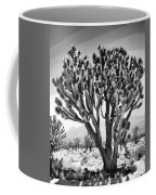 Joshua Trees Bw Coffee Mug