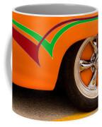 Joy Ride - Street Rod In Orange, Red, And Green Coffee Mug