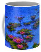 Joyful State - Modern Impressionistic Art - Palette Knife Landscape Painting Coffee Mug