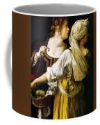 Judith And Her Maidservant 1613 Coffee Mug