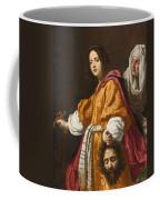 Judith Holding The Head Of Holofernes Coffee Mug
