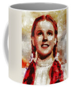 Judy Garland, Vintage Actress By Mb Coffee Mug