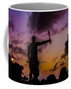 Juggler At Sunset Coffee Mug