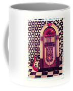 Juke Box Polaroid Transfer Coffee Mug