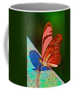 Julia Heliconian Butterfly In Iguazu Falls National Park-brazil Coffee Mug