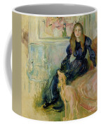 Julie Manet And Her Greyhound Laerte Coffee Mug