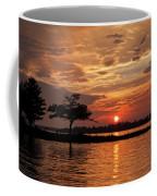 July Summer Sunset At Detroit Point Coffee Mug