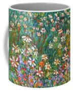 Jumbled Up Wildflowers Coffee Mug