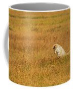 Jumping Coyote Coffee Mug