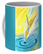Jumping Right On Target Coffee Mug