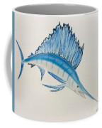 Jumping Swordfish  Coffee Mug