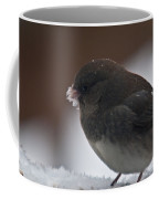 Junco In Snow Coffee Mug