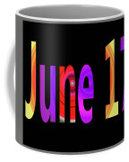 June 17 Coffee Mug