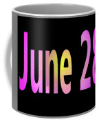 June 28 Coffee Mug