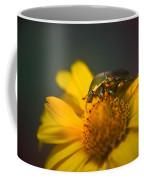 June Beetle Exploring Coffee Mug