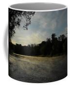 June Mississippi River Misty Dawn Coffee Mug