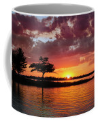 June Sunset At Detroit Point Coffee Mug