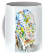 Jung - Watercolor Portrait.4 Coffee Mug