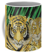 Jungle Cats Coffee Mug