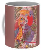 Jungle Chit Chat Batik Coffee Mug
