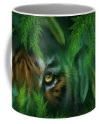 Jungle Eyes - Tiger And Panther Coffee Mug