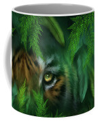 Jungle Eyes - Tiger And Panther Coffee Mug