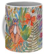 Jungle Scene With Monkey Coffee Mug