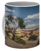 Juniper Tree On A Mesa Coffee Mug