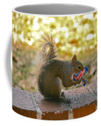 Junk Food Squirrel Coffee Mug
