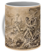 Juno Asking Aeolus To Release The Winds Coffee Mug