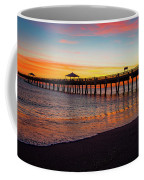 Juno Pier Colorful Sunrise Panoramic Coffee Mug