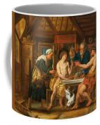 Jupiter And Mercury In The House Of Philemon And Baucis Coffee Mug