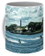 Jupiter Inlet And Lighthouse Coffee Mug