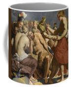 Jupiter Rebuked By Venus On Mount Olympus  Coffee Mug